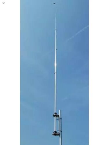 Base Antenna GPA80 HF Vertical 806M No Gaps No Radials & Perfect SWR With ATU