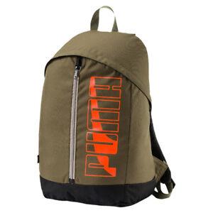 PUMA Buzz Backpack Rucksack für Sport Freizeit Reise Schule grün