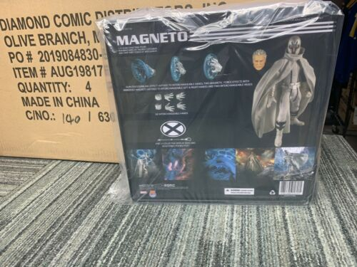 Mezco One:12 PX Magneto Marvel NOW in stock and shipping white outfit
