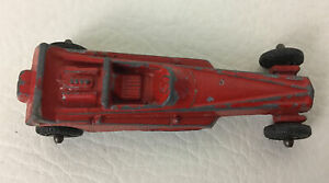 Tootsietoy Wedge Dragster Car Die Cast Metal Vintage Red Vehicle Made In USA