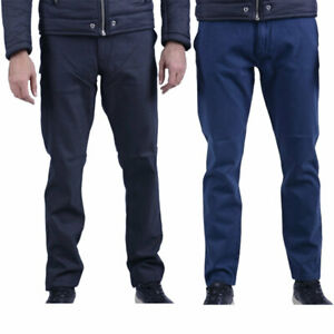 ARMANI-Jeans-6X6-P68-6N0HZ-Casual-da-Uomo-Pantaloni-Chino-Pantaloni-ELASTICI-SLIM-FIT