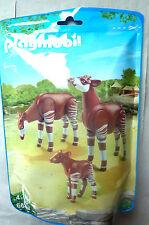 R3) PLAYMOBIL ® Okapi  mit Baby Set 6643 City Life Zoo Serie