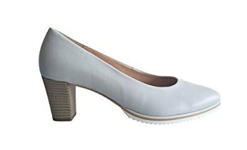 Gabor SALE Damen hochwertige Leder Pumps Schuhe light blue blaugrau UVP 129,95