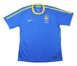 BRASILE 2010-11 ORIGINALE AWAY SHIRT (eccellente) L soccer jersey