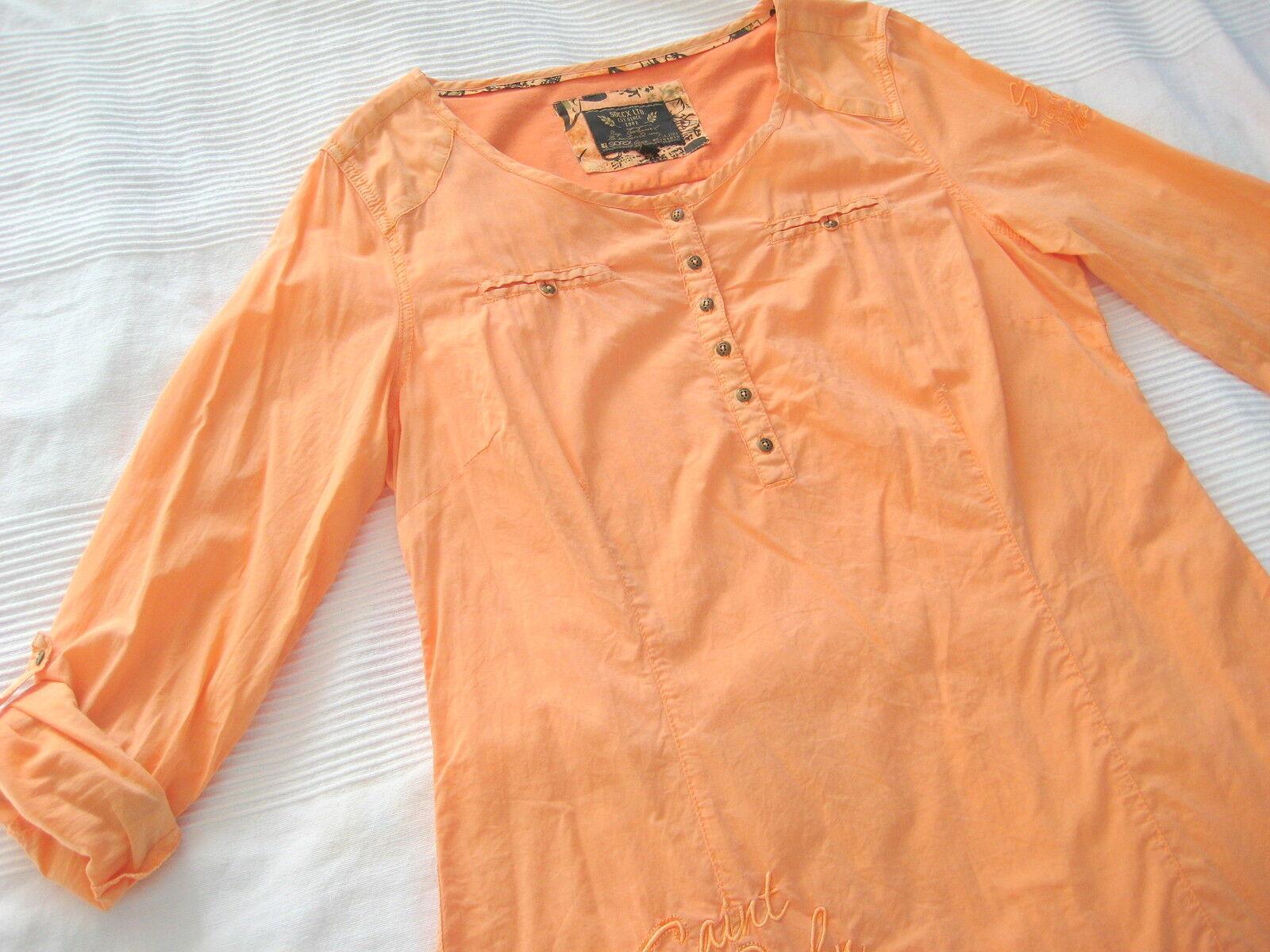 SOCCX SOCCX SOCCX Long Blause Tunika lachs Orange Gr. L 40 wie NEU | Outlet Online  | Moderater Preis  | Hochwertig  | Kaufen Sie beruhigt und glücklich spielen  | Die Farbe ist sehr auffällig  d7a9f9