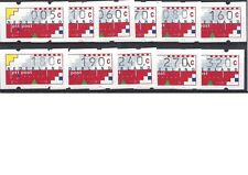 Nederland automaatzegels klussendorf 1991 kompleet postfris xx