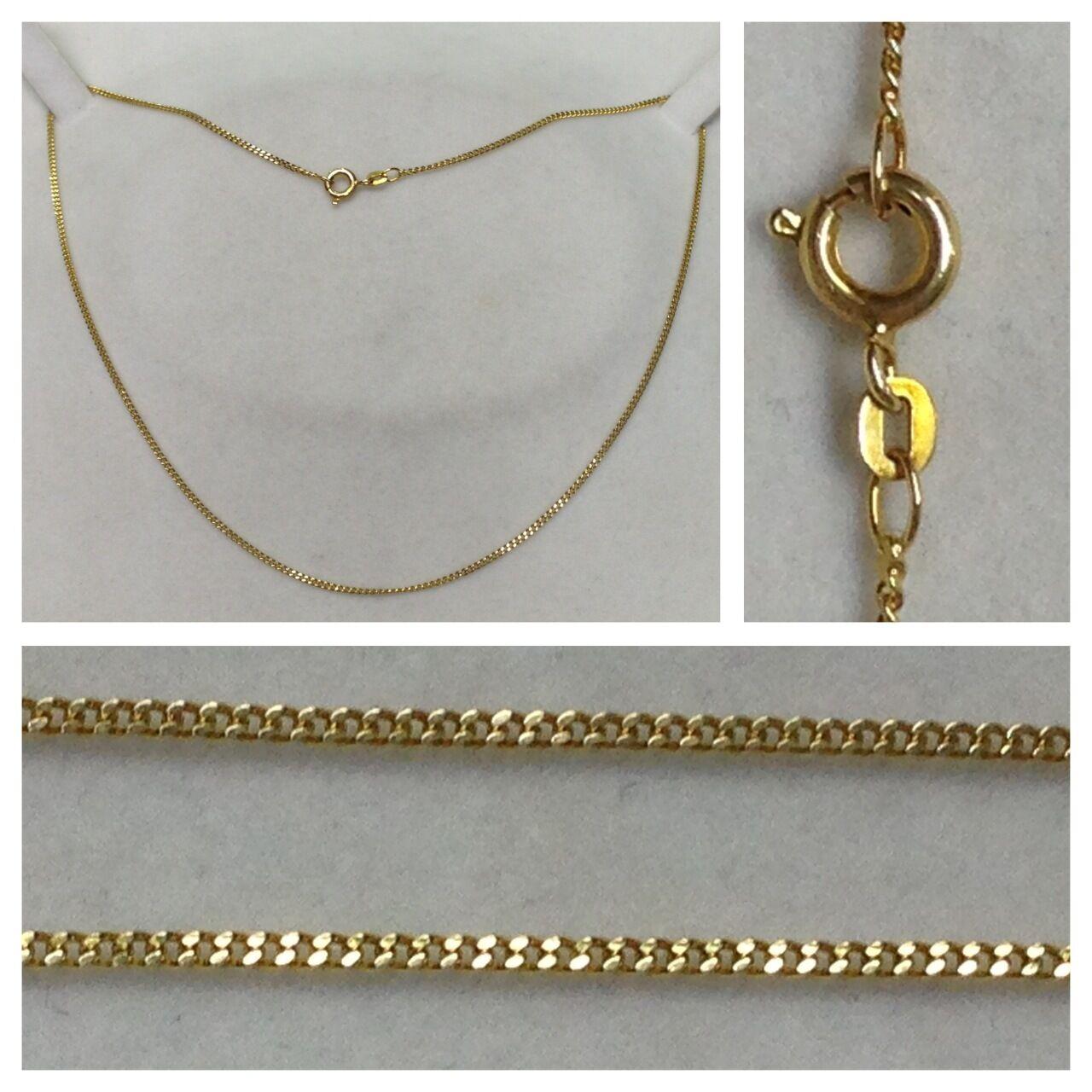 Collar 585er gold Joya De gold Collar de gold Collar 39cm