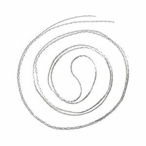 20m feine Gliederkette/S<wbr/>chmuckkette, silberfarben, 0,6x0,7mm Schmuck Kette DIY