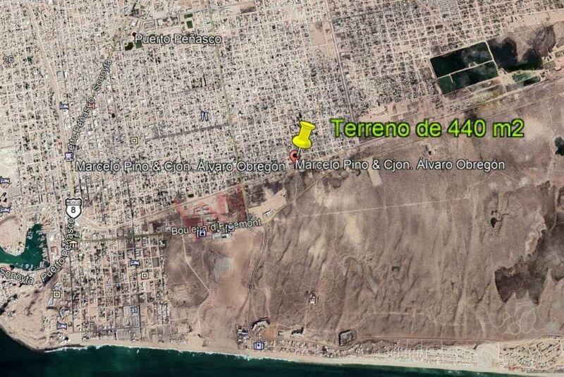 TERREN0 EN VENTA, PUERTO PEÑASCO, SONORA