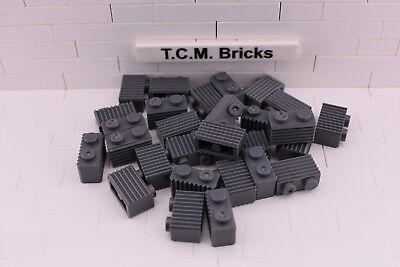 TCM Compatible Bricks Dark Bluish Gray Plate 2 x 3 QTY:100 pieces