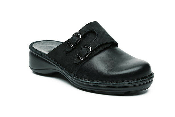 Naot Naot Naot Leilani femmes Slip On Clogs Leather chaussures Wedge Slippers New Flat Slides 4d3c67
