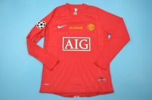 Maillot-de-football-Manchester-United-Ronaldo-2007-taille-S-M-L-XL-en-etat-neuf