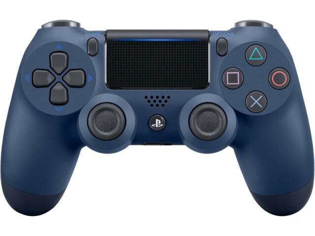 Sony PlayStation DualShock 4 Wireless Controller - Midnight Blue