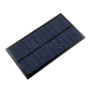 Integrated Circuits Electronic Components & Supplies Mini 6v 1w Solar Panel Bank Solar Power Board Module Portable Diy Power For Light Battery Cell Phone Toy Chargers
