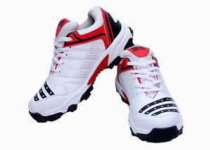 Firefly-All-Rounder-Cricket-Shoes-White-034-Made-From-Synthetic-With-Rubber-Sole