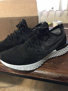 Running Shoe Black Dark Grey Size