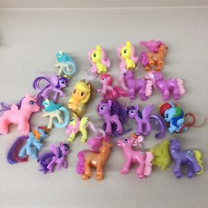 My Little Pony Lot Of 20 Figures Ponies All Kinds EUC AR126