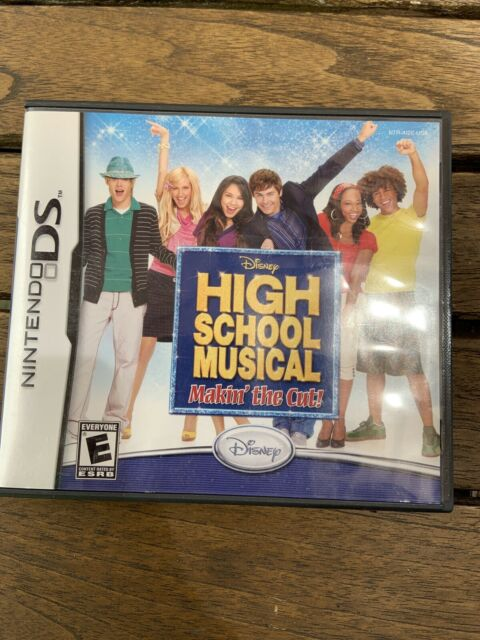 Nintendo DS Disney High School Musical Makin The Cut