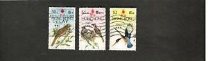 1975 Hong Kong SC #308-311 BIRDS  used stamps