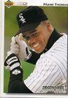 1992 Upper Deck Frank Thomas #166 Baseball Card