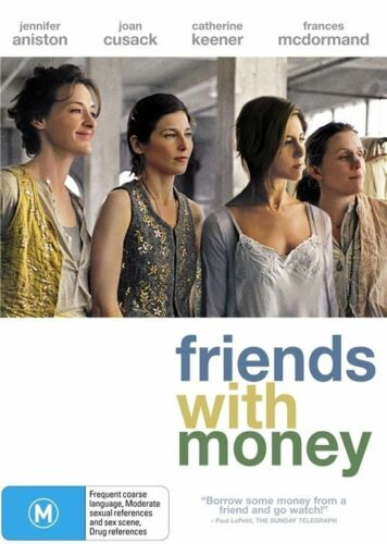 1 of 1 - FRIENDS WITH MONEY, JENNIFER ANISTON, JOAN CUSACK, REGION 4, NEW & SEALED