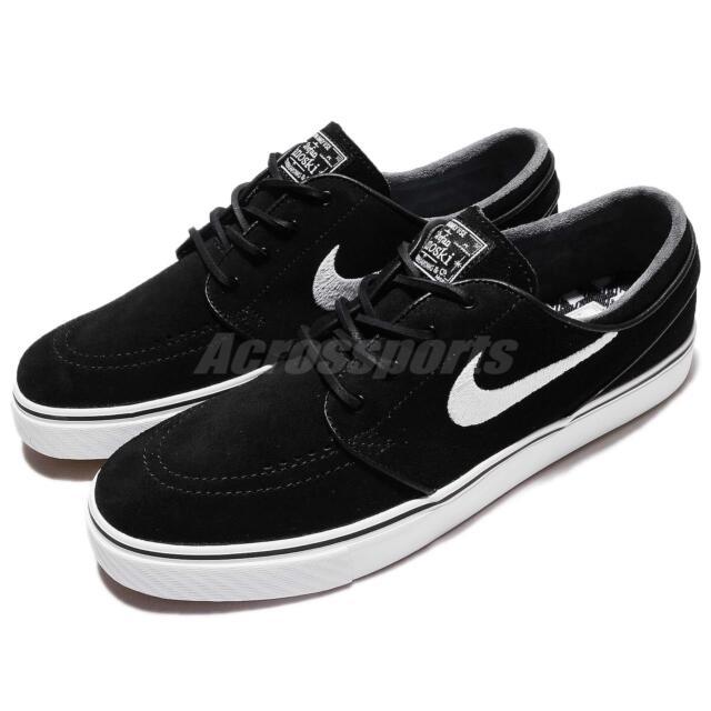 199fd6e3d90d2f Nike SB Air Zoom Stefan Janoski OG Black White Men Skateboarding Shoe  833603-012