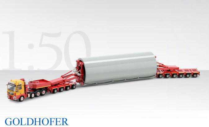 Conrad 70168 MERCEDES ACTROS avec orHOFER modulaire remorque-W + F Franke 1 50 Comme neuf IN BOX