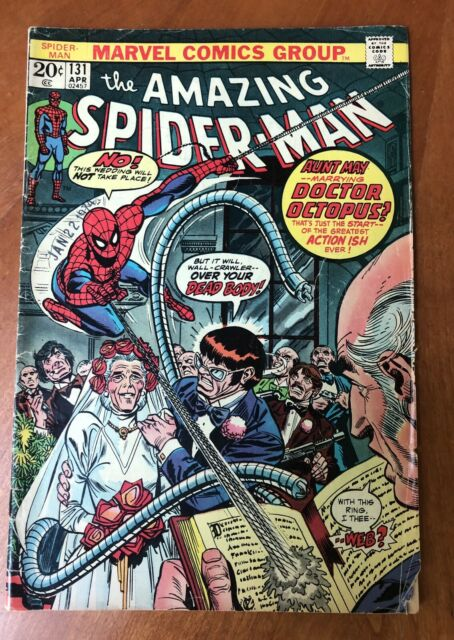 The Amazing Spider Man 131 Apr 1974 Marvel For Sale Online Ebay