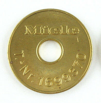 50 Original Miele 1699370 Trocknermarken/trocknermünzen/waschmarken/münzen Neu