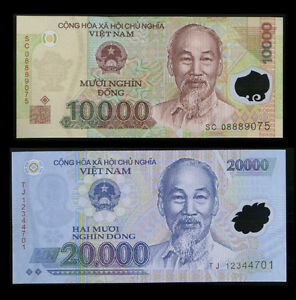 30-000-Vietnam-Dong-One-20000-amp-One-10000-Vietnamese-Dong-Note-Foreign-Currency