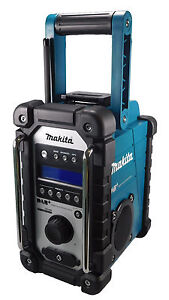 makita baustellenradio dmr110 dab nachfolgemodell v dmr105 digital audio radio ebay. Black Bedroom Furniture Sets. Home Design Ideas