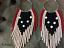 Hoop-earrings-Long-Seed-Bead-Earrings-Fringe-Earrings-Beaded-Shoulder-Duster thumbnail 2