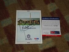 Angel Cabrera Signed The Brabazon Scorecard PSA DNA