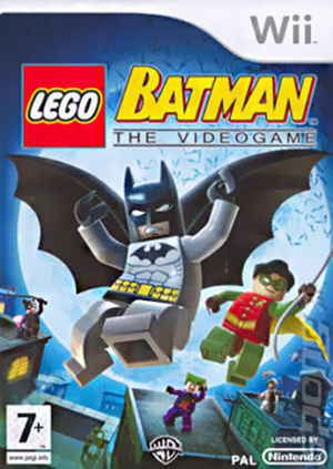 lego batman das videospiel nintendo wii 2008 dvd box. Black Bedroom Furniture Sets. Home Design Ideas