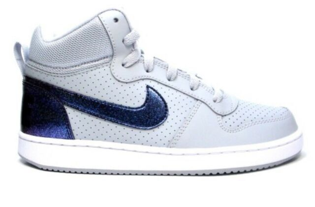37d290a9113 Nike Kid s Court Borough Mid GS Basketball Shoes Size 7y for sale ...