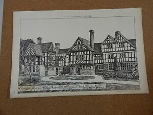 Antique-Architects-Print-Colwood-Cuckfield-Sussex-Building-news-1884