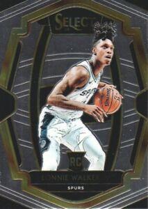 2018-19-Select-Basketball-174-Lonnie-Walker-IV-RC-San-Antonio-Spurs