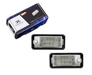 Premium-LED-Kennzeichenbeleuchtung-Audi-Q7-A4-S4-B6-B7-8E-A6-S6-4F-C6-A3-8P-KB24
