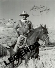 "John Wayne Autographed  ""CHISUM""   8x10 B & W Reprint JW-50"