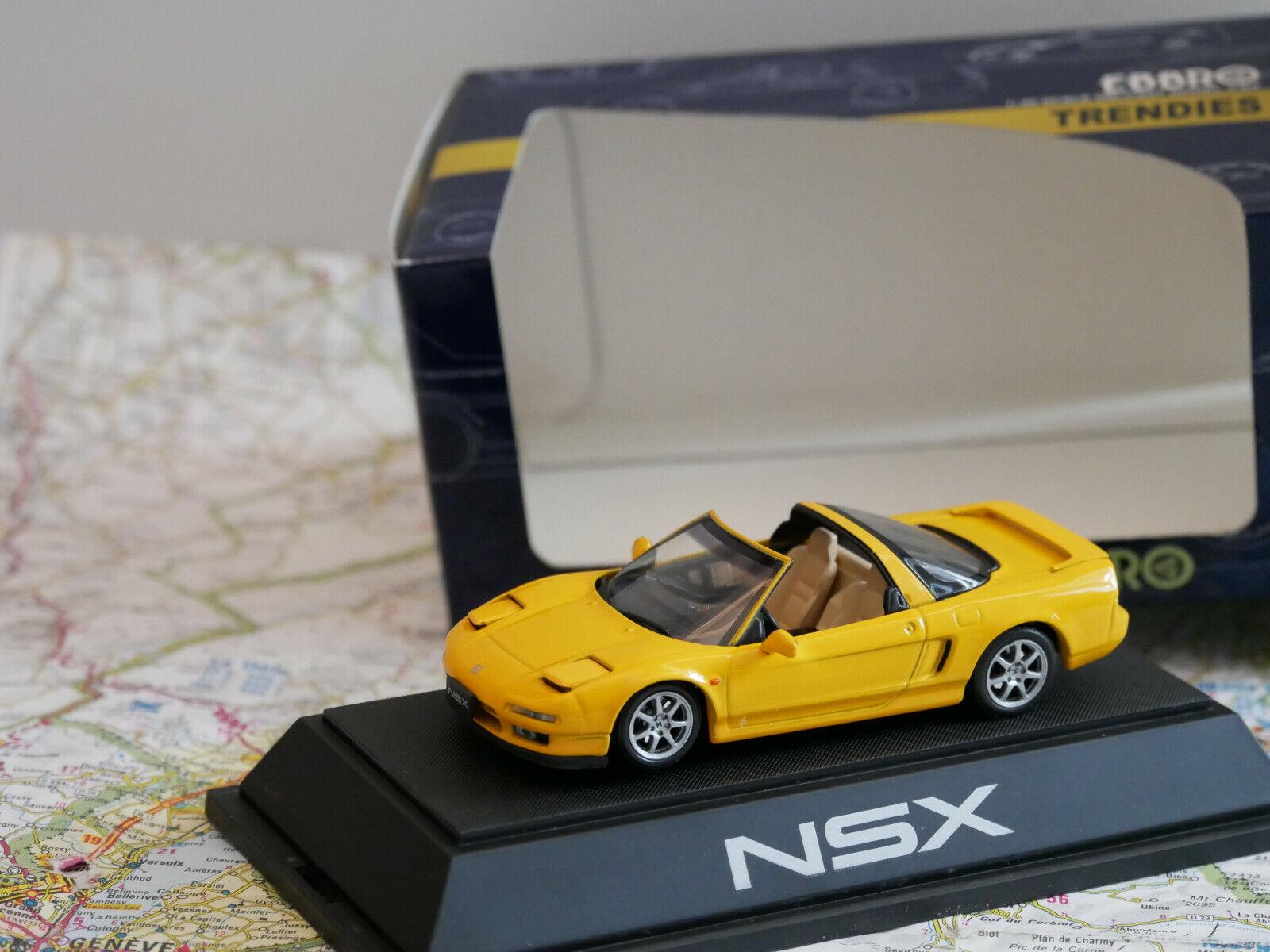 EBBRO HONDA NSX-T jaune ART.  34 1 43 DIE- CAST nouveau  magasin en ligne