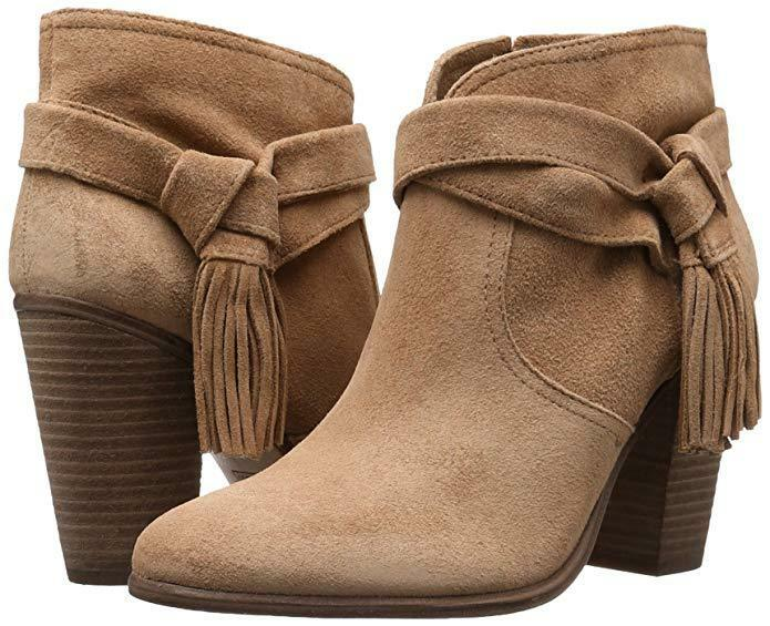 Vince Camuto Women's Fianna Ankle Bootie, Cumino, Size 5.5