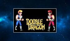Double Dragon Fridge Magnet (Billy & Jimmy Lee) Classic Arcade Game. Beat Em Up