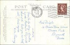 Mrs Dingle. 13 Beacon Down Avenue, Beacon Park, Plymouth. 1955 Cardiff    QS.37