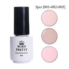 3pcs/set Nude UV Gel Polish Soak Off UV LED Gel Nagellack Maniküre BORN PRETTY