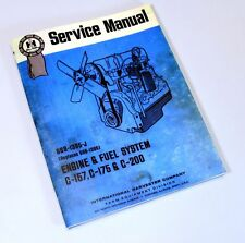 International C 200 Gas Engine 544 574 Ih Tractor Service Shop Repair Manual