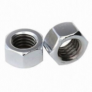 10-32 1//4 5//16 3//8 7//16 1//2 5//8 UNF FINE THREAD A2 STAINLESS HEXAGONAL FULL NUTS