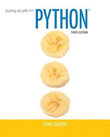 Starting out with python by tony gaddis 2014 paperback mixed starting out with python plus myprogramminglab with pearson etext access ca fandeluxe Images
