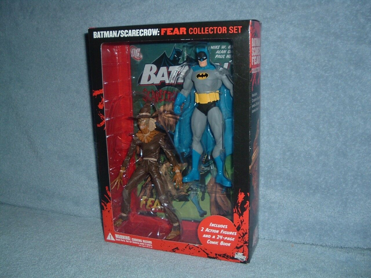 BATMAN SCARECROW Fear Collector Set 7