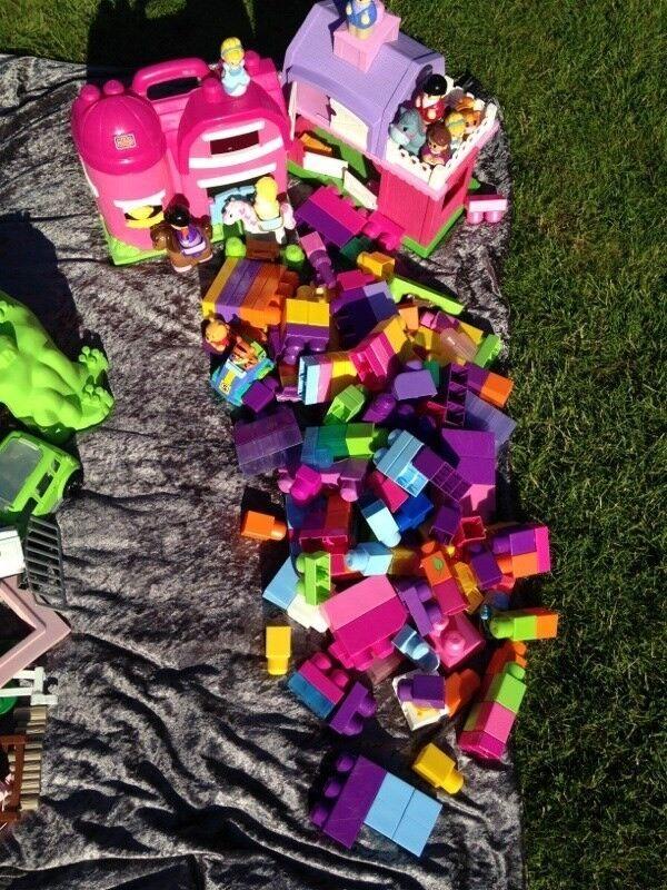 Blandet legetøj, Mega bloks