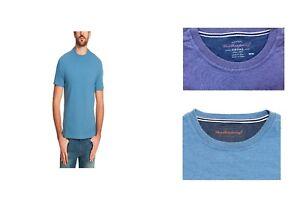 Weatherproof-Vintage-Men-039-s-Short-Sleeve-Crew-Neck-Striped-Shirt-Variety